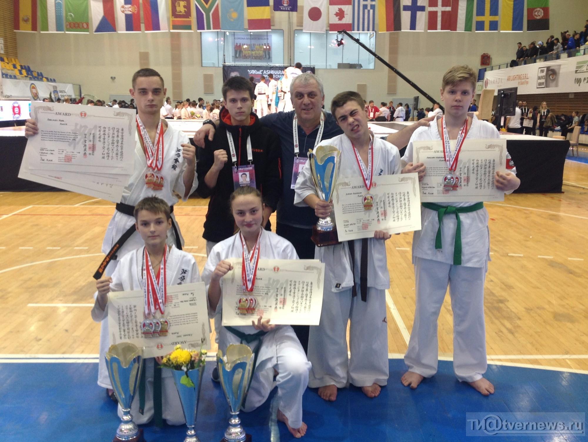 Тверские каратисты привезли 12 наград изРумынии
