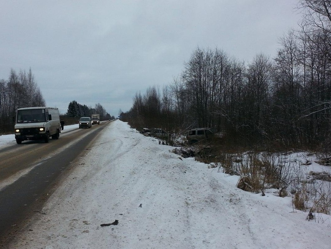 ВКимрском районе шофёр  «Лады» попьяни протаранил УАЗ