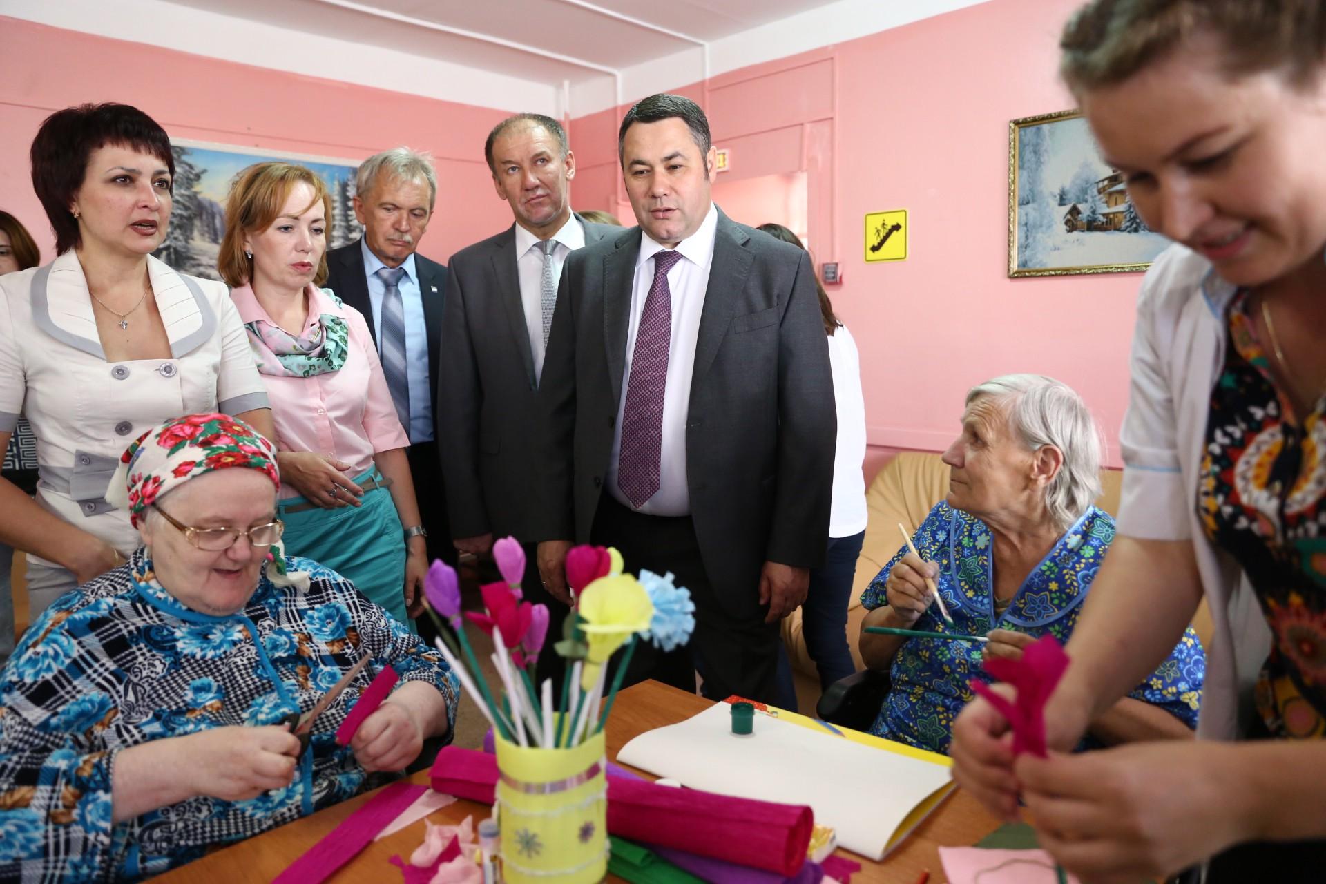 Как направить в дом престарелых дома престарелых для участников войны спб