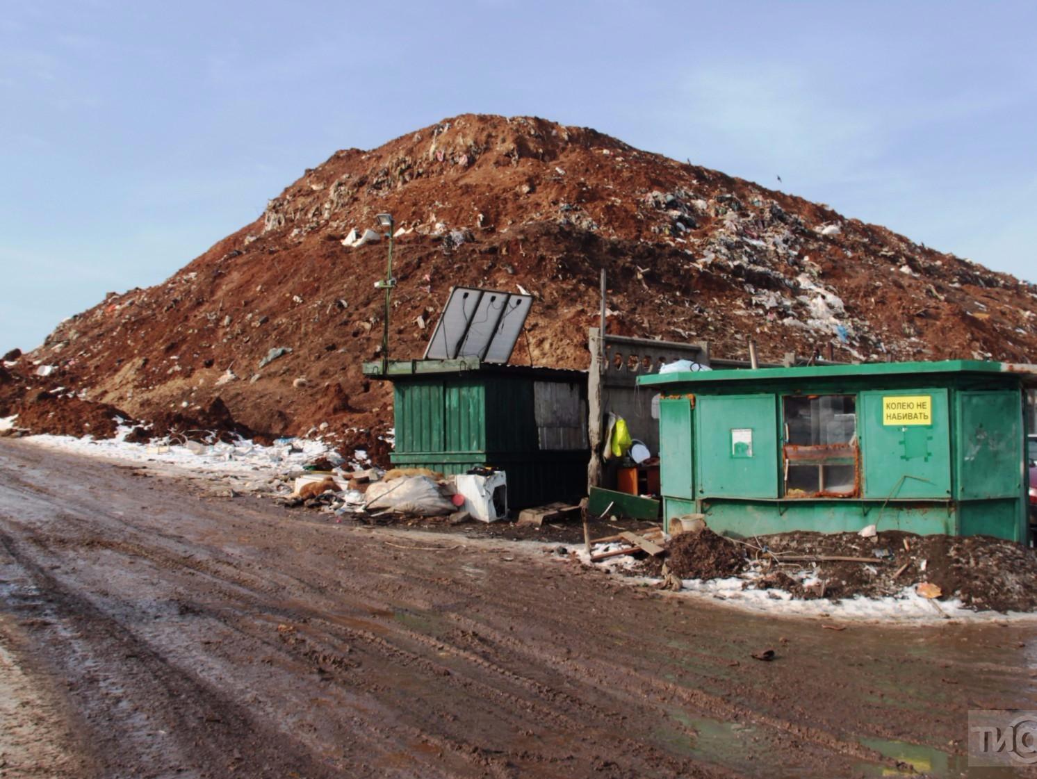 Суд обязал узаконить свалку на Ильинском шоссе в Кимрах до января 2018 года