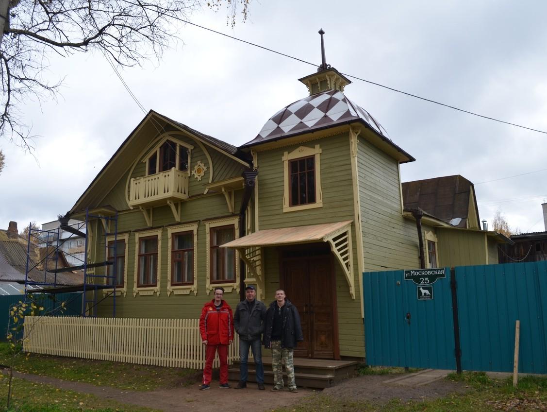 В Кимрах исторический облик домов восстанавливают энтузиасты