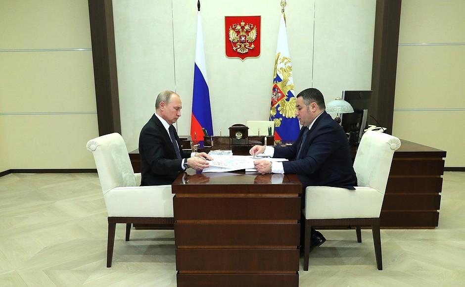 Путину рассказали о первом переходе на «цифру»: Тверская область начала тестировать новый телесигнал