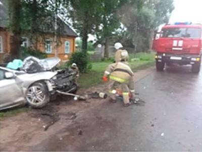 ВКузбассе автоледи без прав устроила смертельное ДТП