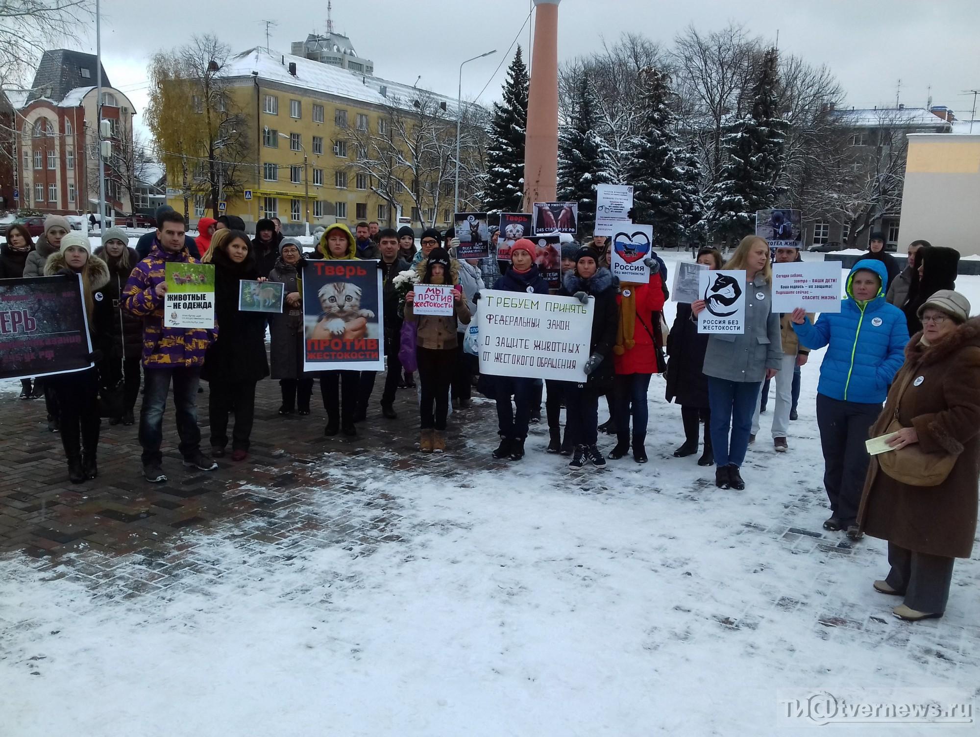 ВХабаровске прошел митинг занаказание девушек-живодерок