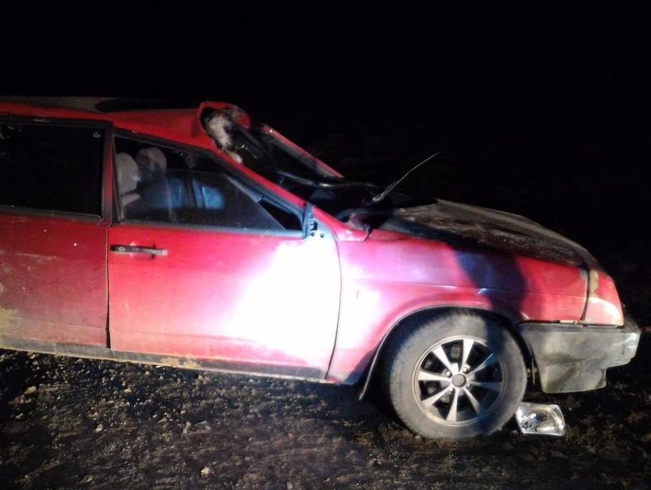 Один человек пострадал при столкновении автомобиля слосем вТверской области
