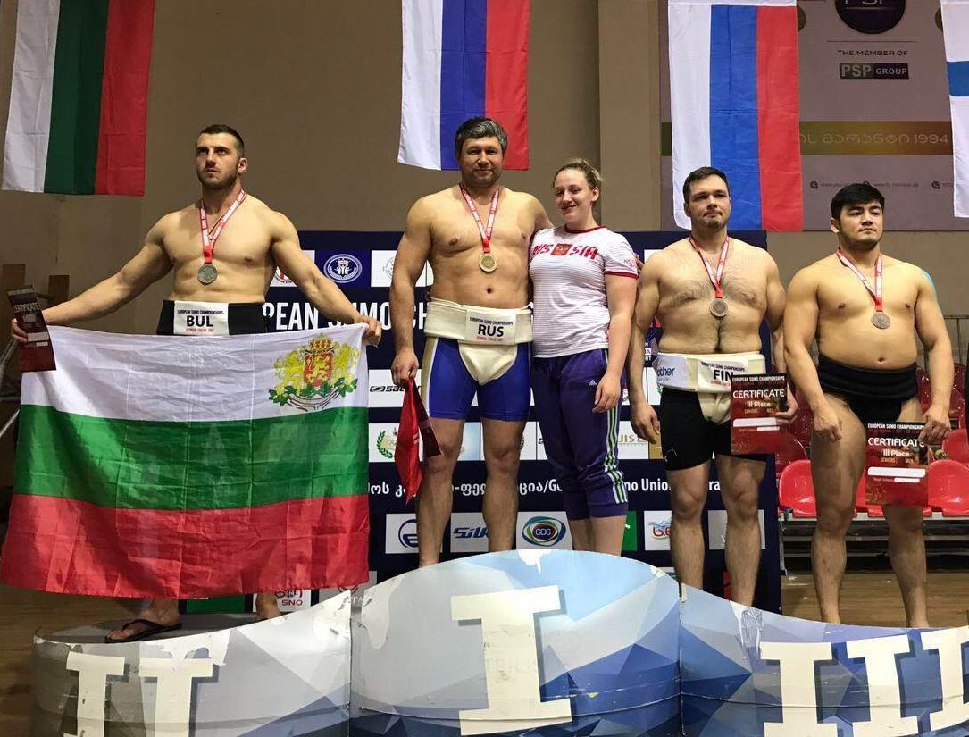 Североосетинские спортсмены стали победителями чемпионата Европы посумо