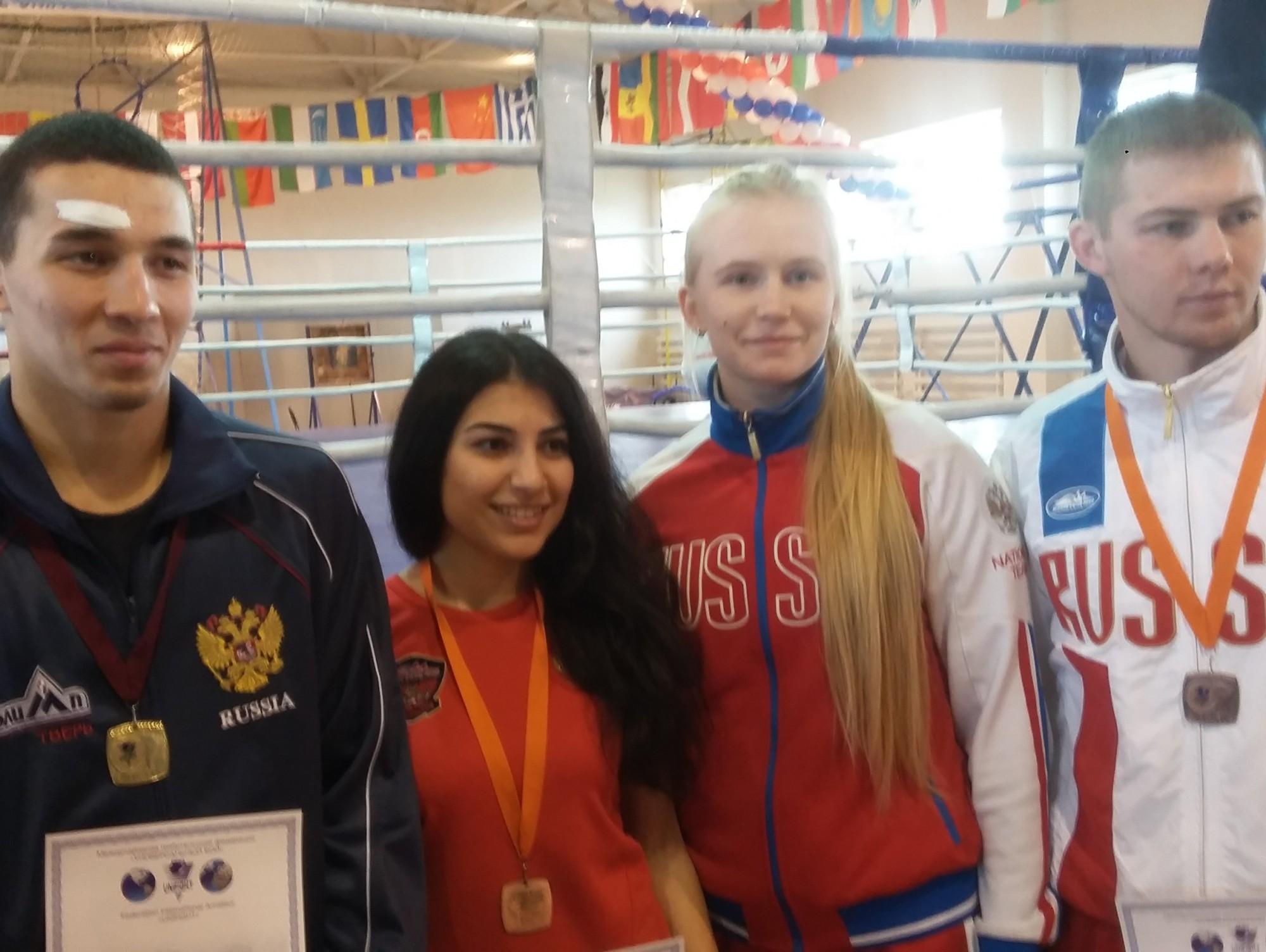 Тамбовчанка завоевала золотую медаль наЧемпионате мира поуниверсальному бою