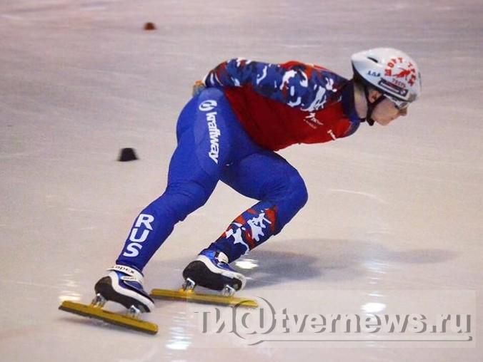 Тверской шорт-трековик Даниил Ейбог одержал победу золото этапа Кубка Российской Федерации