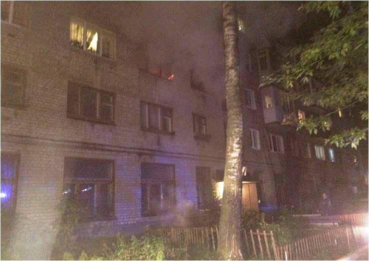 ВТвери наулице Чудова сгорела квартира. Есть пострадавшие