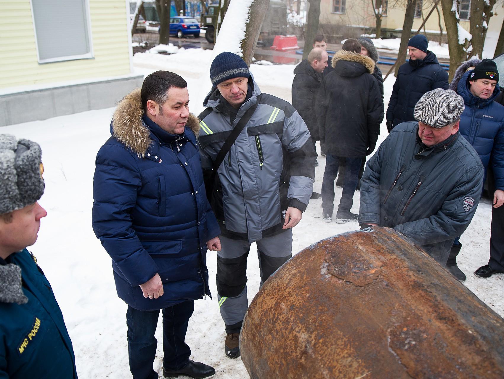 Часть Заволжского района Твери оказалась обезвожена из-за повреждения натрубопроводе