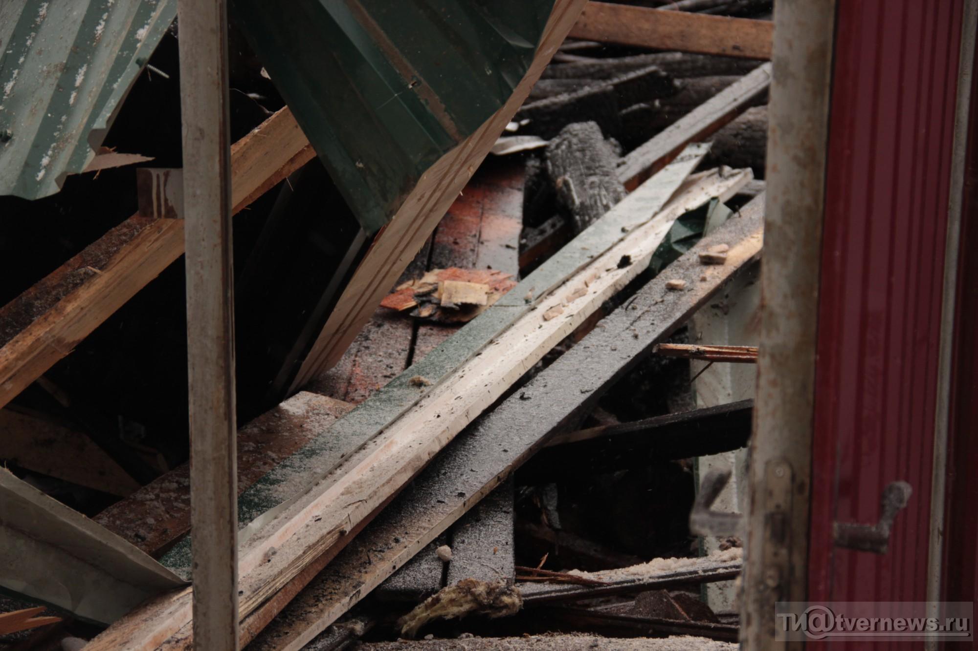 В Твери ликвидируют последствия мощного взрыва