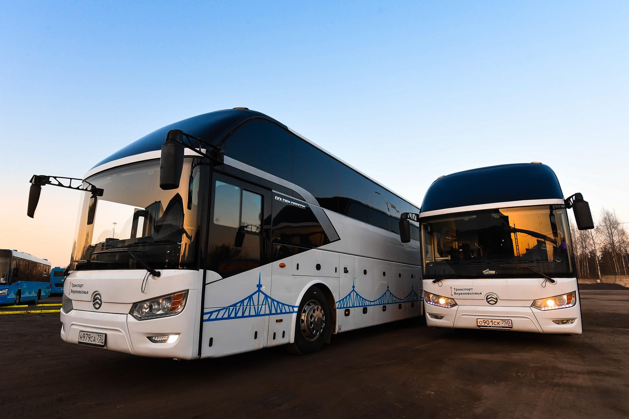 «Транспорт Верхневолжья» запустил новые междугородние маршруты из Твери в Кимры
