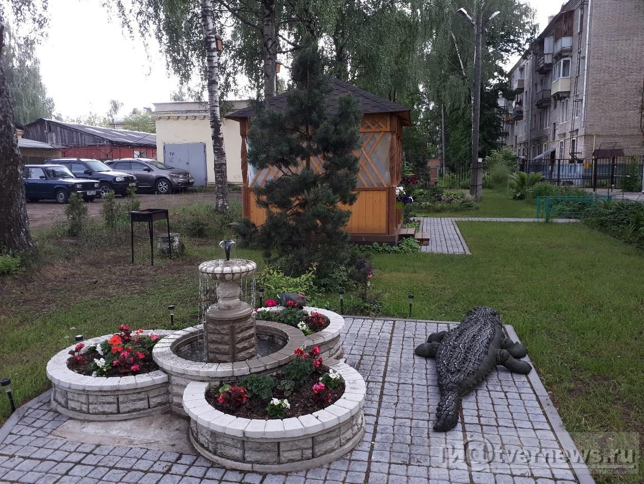 Цветы многоквартирного дома