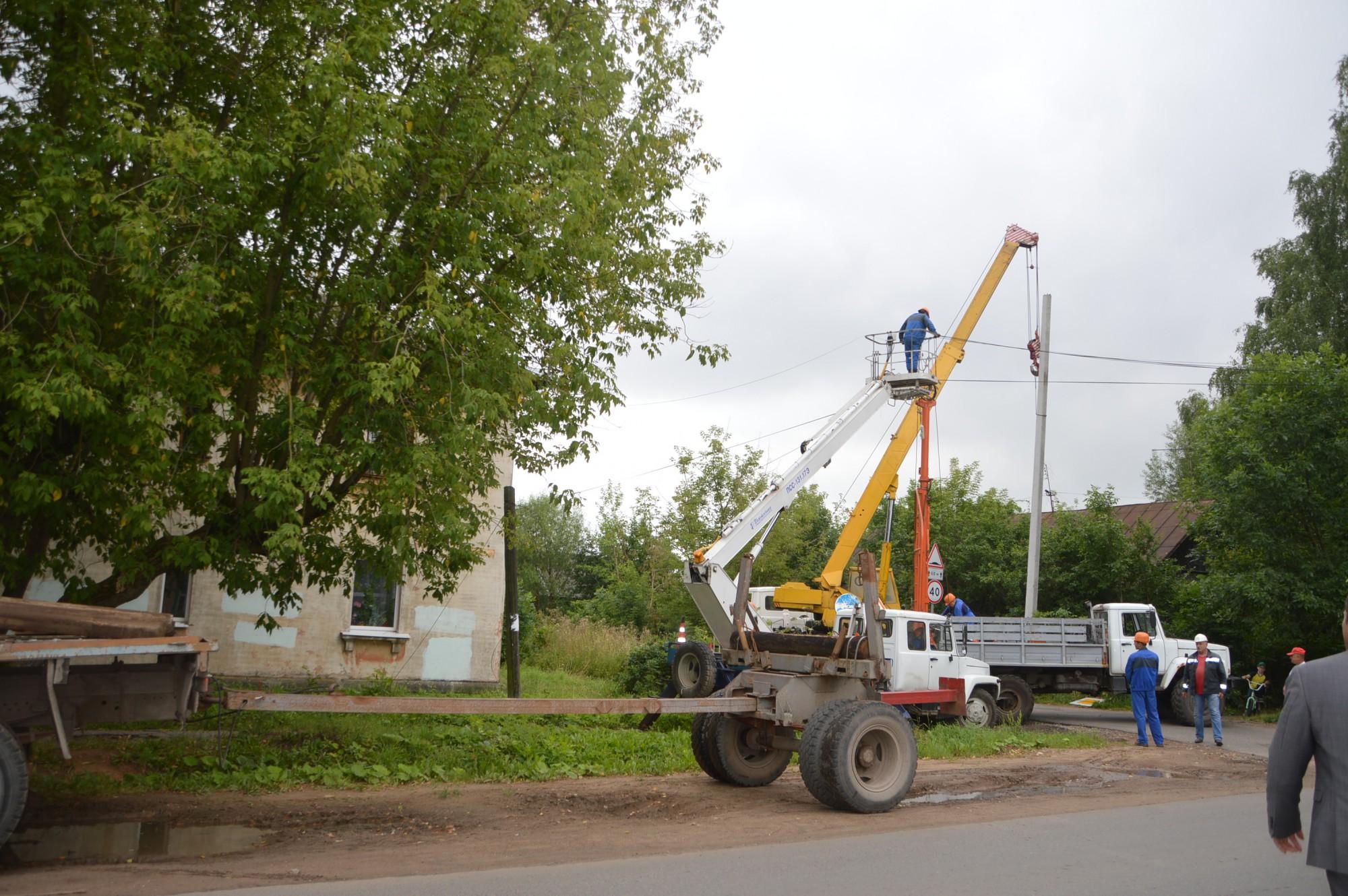 монтажа воздушных линий электропередач и трансформаторных подстанций