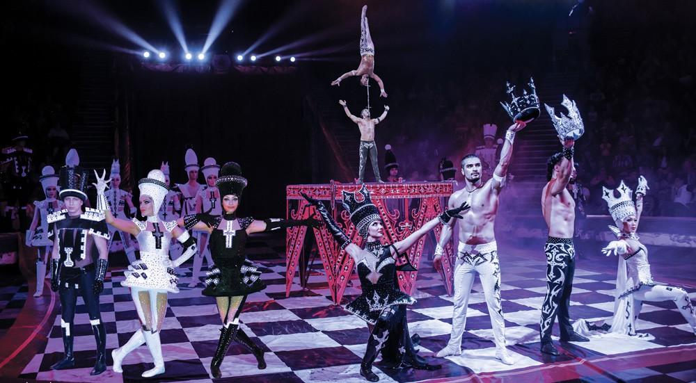 Новое шоу Гии Эрадзе «Баронеты» в Твери