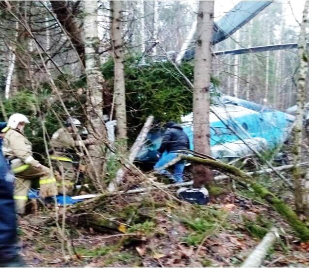 ВТверской области разбился вертолет. Один человек умер , трое ранены