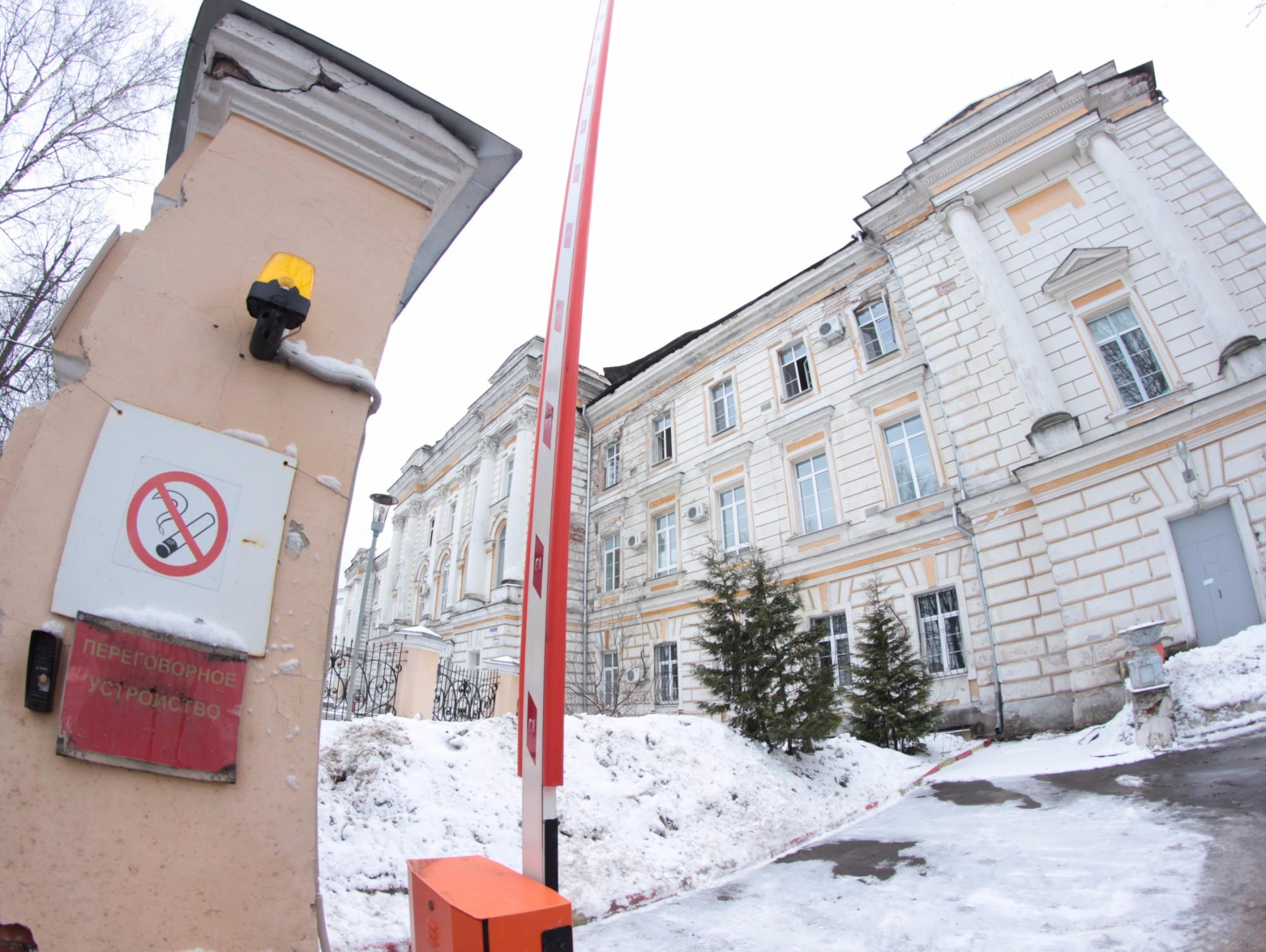 Сгоревшее сооружение детской клиники вТвери законсервируют для инвесторов