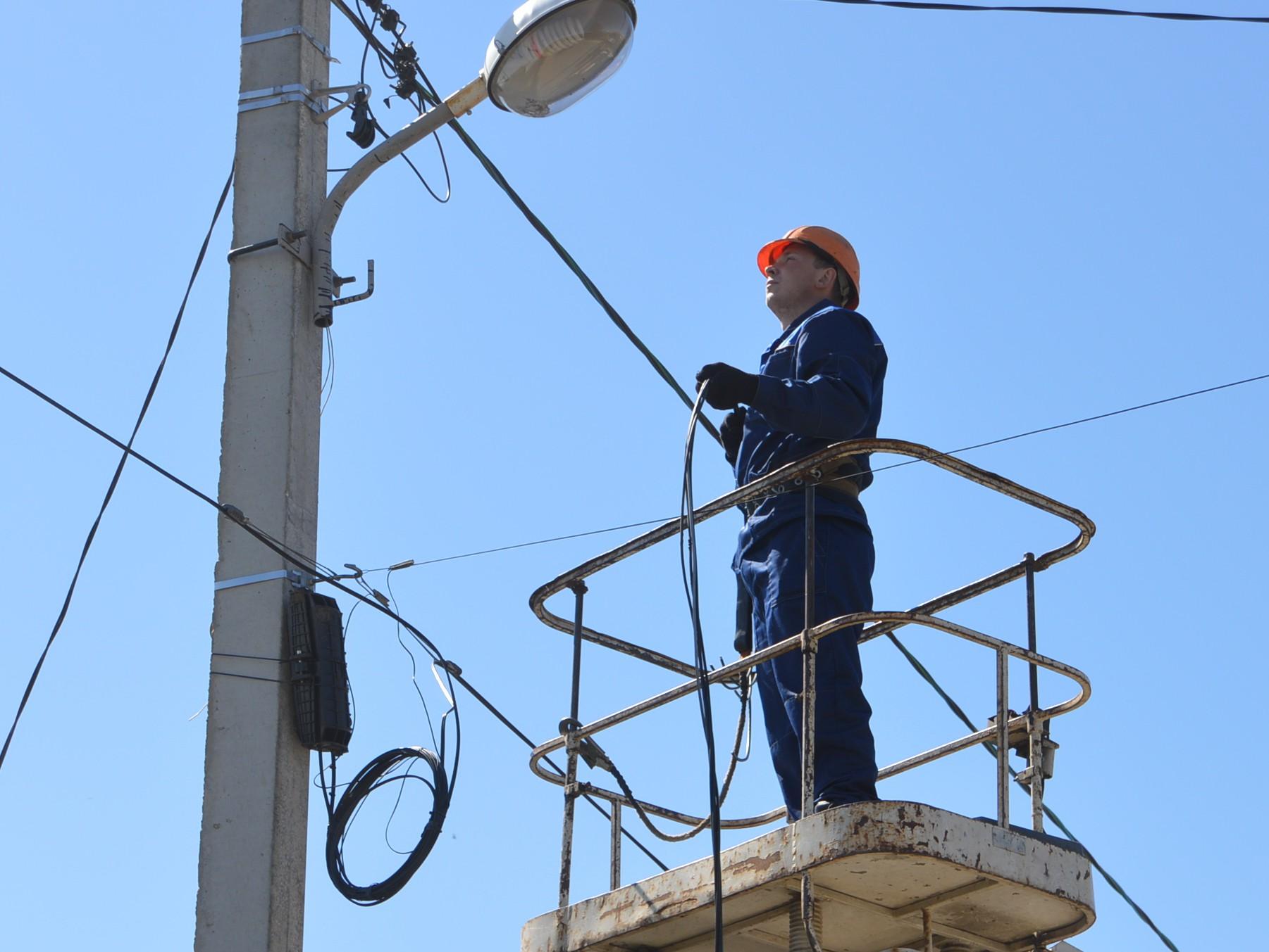 В Твери, в посёлке имени Чкалова, проводится масштабная реконструкция линий электропередачи - ТИА