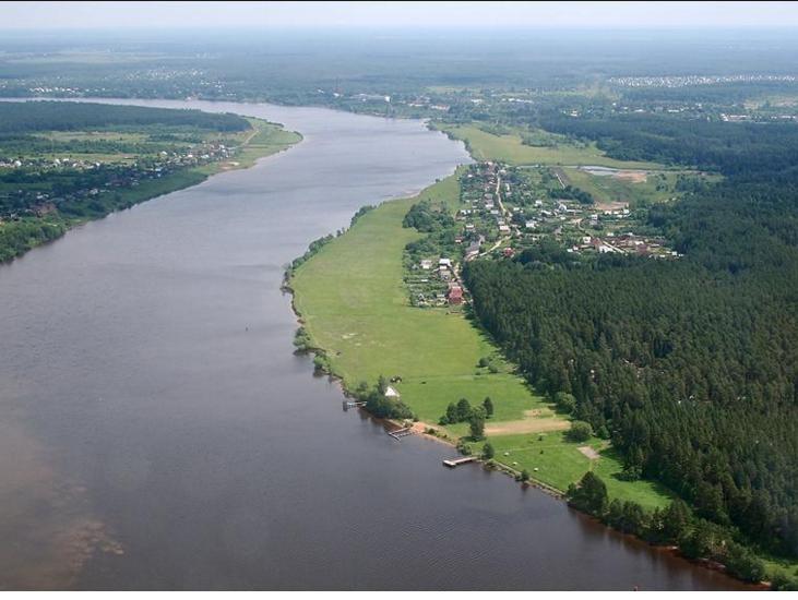 Жители посёлка Южный в Кимрах требуют свободного допуска к берегам Волги