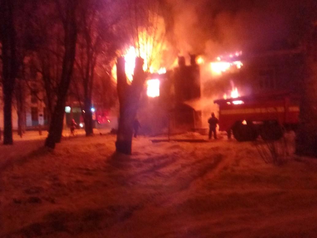 Из-за пожара вТверской области неменее 20 человек остались без жилья