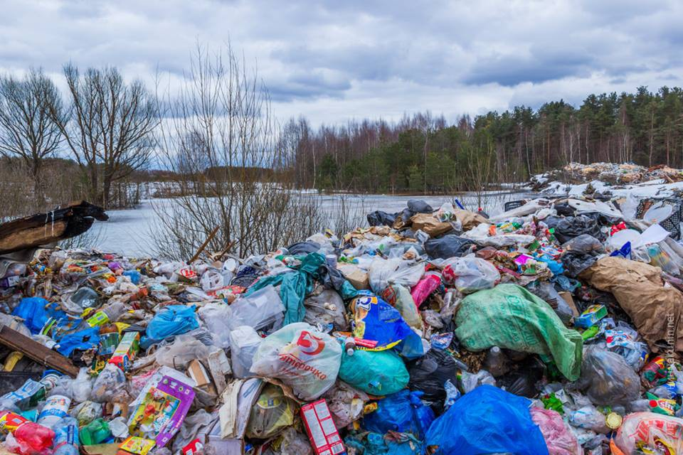 Nga nhức nhối vì rác thải