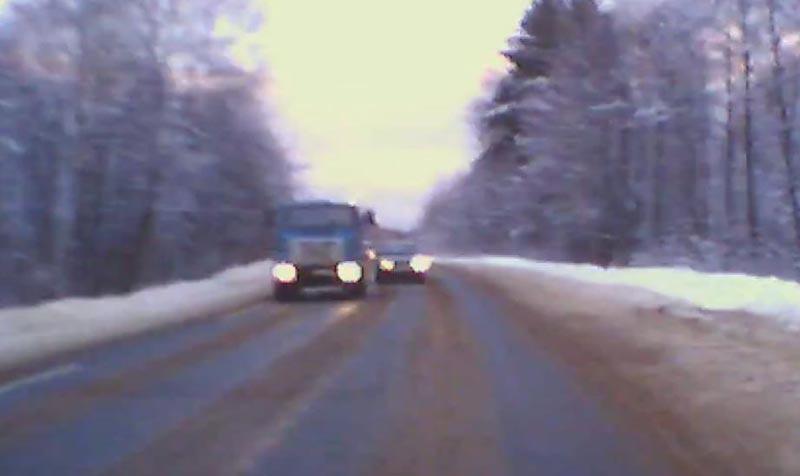 УГИБДД по Тверской области предупреждают жителей о гололедице