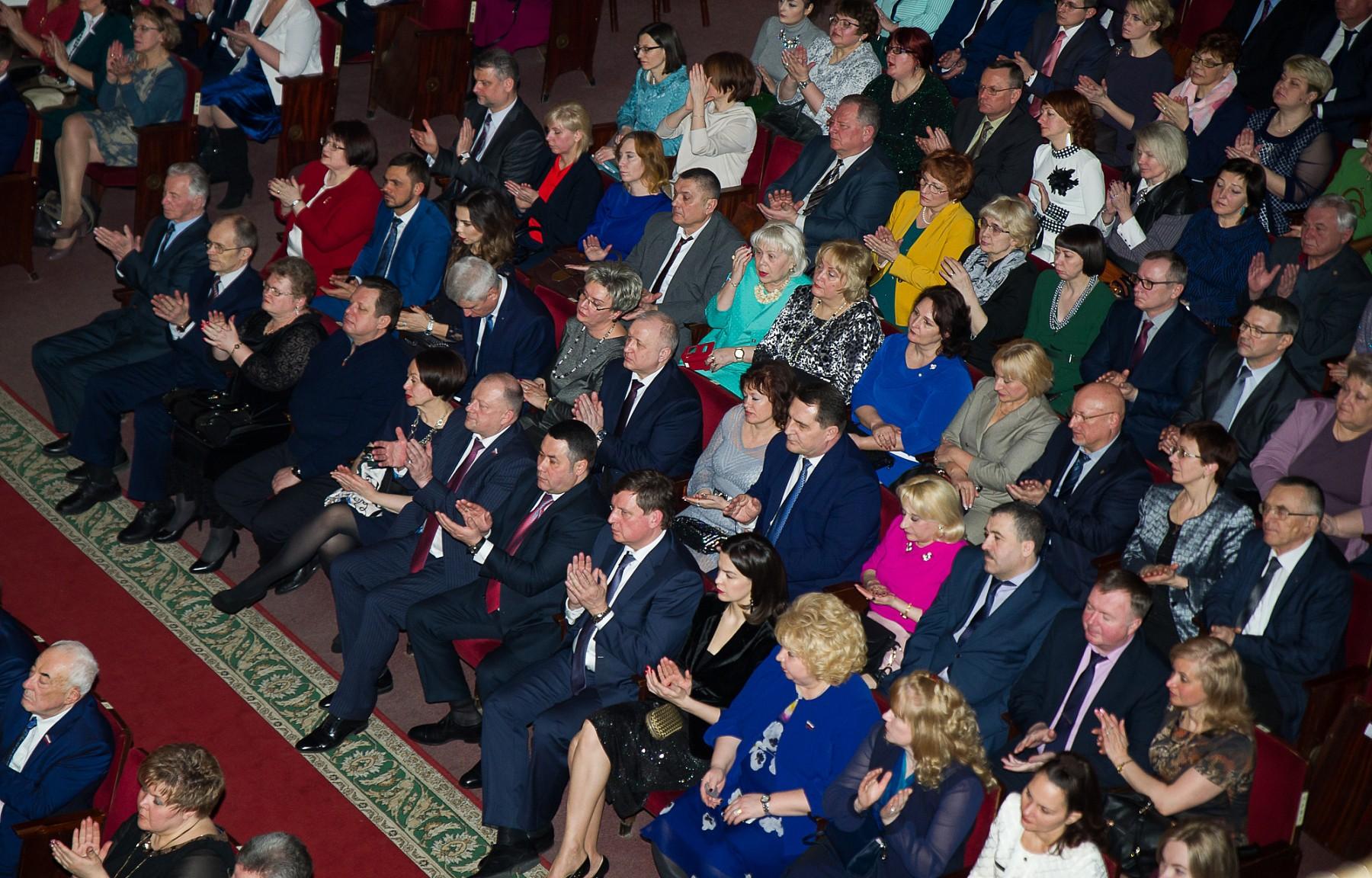 Поздравление губернатора тверской области с 8 марта