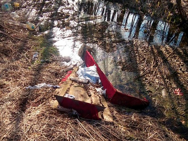 Пустой гроб иразрытую могилу обнаружили впоселке Дмитрово