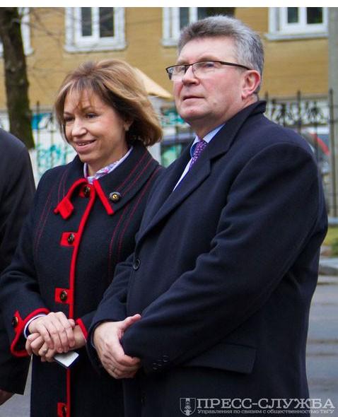 Людмила Скаковская и Андрей Белоцерковский