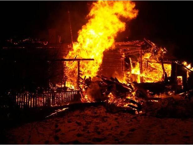 Напожаре вТверской области умер пенсионер