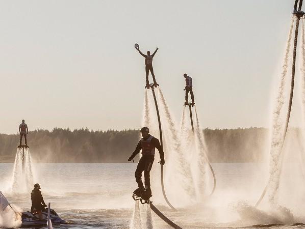Мировой рекорд пофлайбордингу установили вТверской области