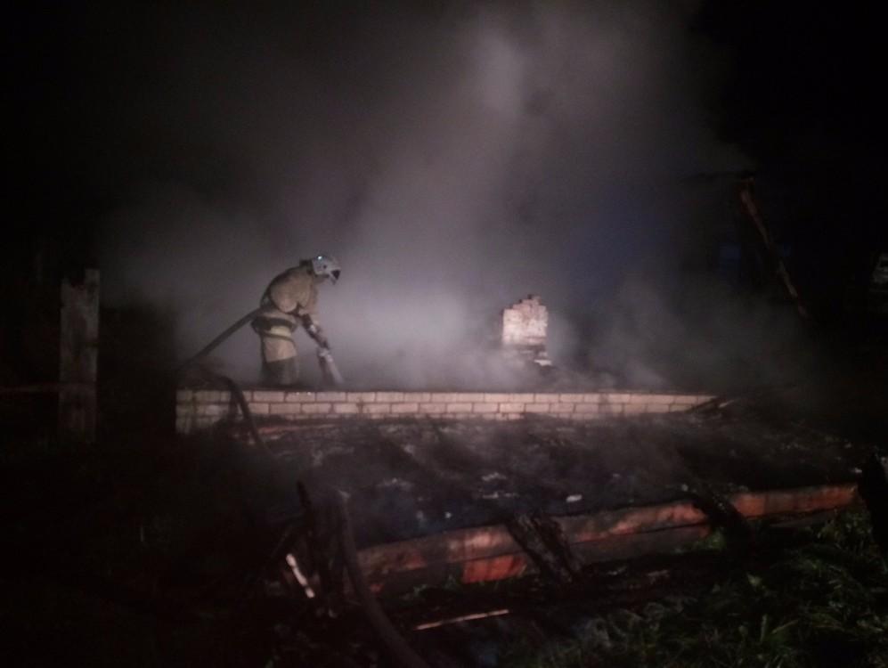 Впожаре вТверской области погибли 2 человека