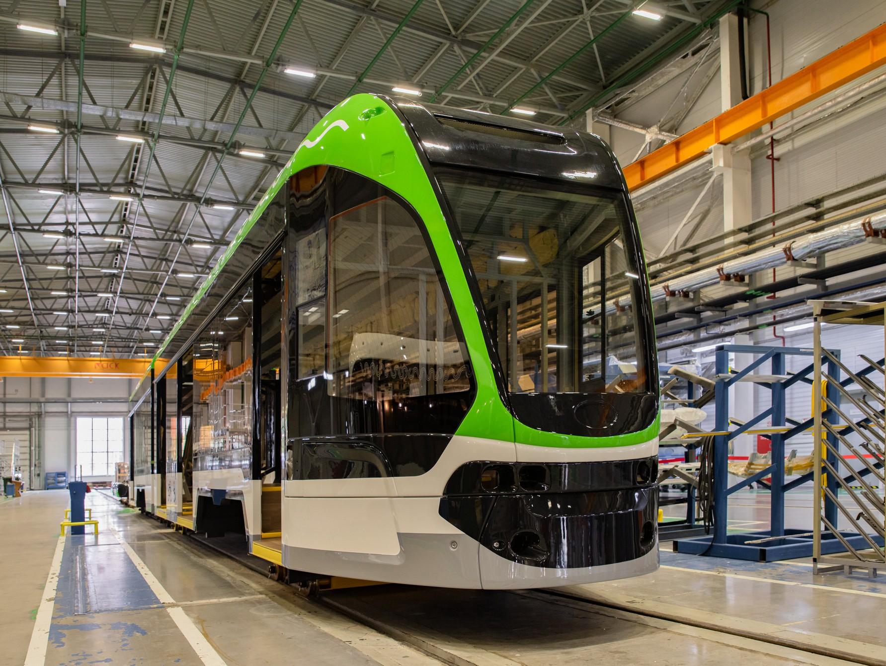 В Твери сделали ещё одну трамвайную новинку