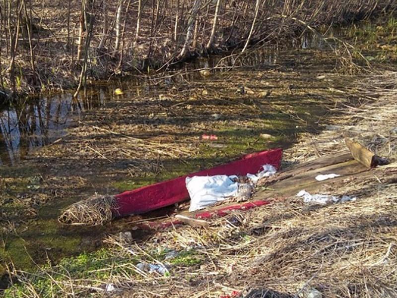 ВТвери накладбище разрыли могилу ивыбросили гроб