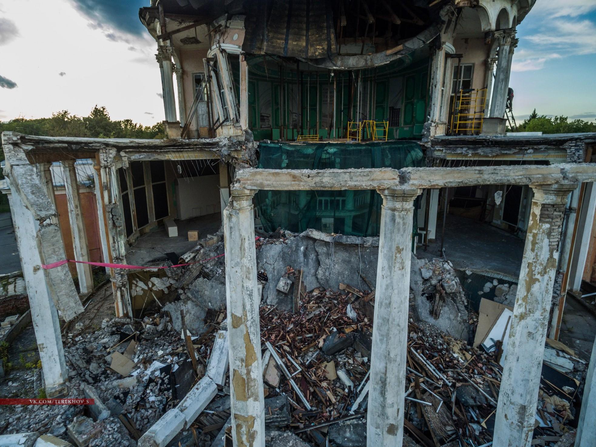 Сооружение Речного вокзала отсканировали, чтобы потом восстановить вточности